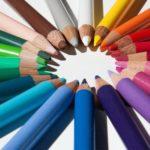 Flipowanie, kredki, kolory